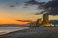 Sunset Over Panama City Beach,...