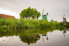 Beautiful Dutch Houses At Zaandijk, Netherlands