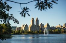 Blurred New York City Manhatta...
