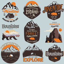 Outdoor Expedition Typography....