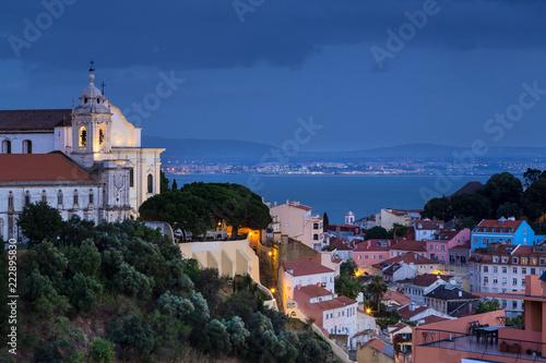 Spoed Foto op Canvas Europese Plekken Ville de Lisbonne Portugal