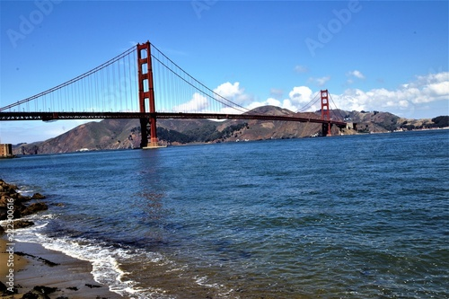 Foto auf Acrylglas Bestsellers Golden Gate Waves