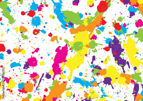Fotografia  Abstract vector colorful background design