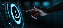 Upload Data Storage Business Technology Network Internet Concept