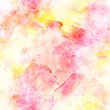Seamless abstract background pattern wiith pale pink and yellow splashes