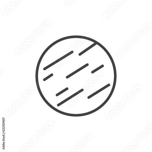 Fotografia  Jupiter outline icon