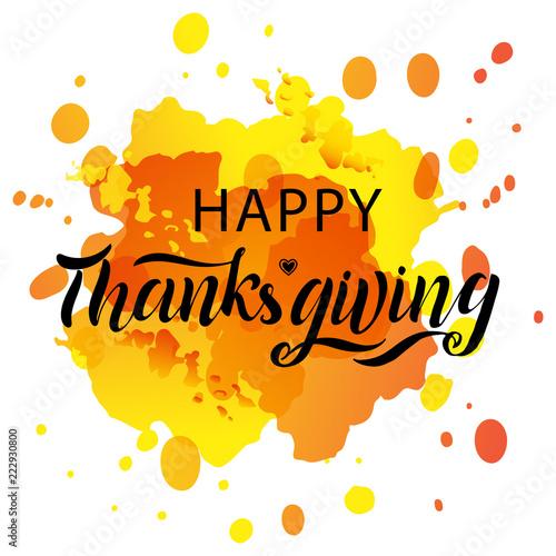 recznie-rysowane-happy-thanksgiving-napis-typografia-plakat