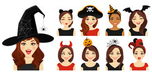 Halloween Headbands And Hat Wo...