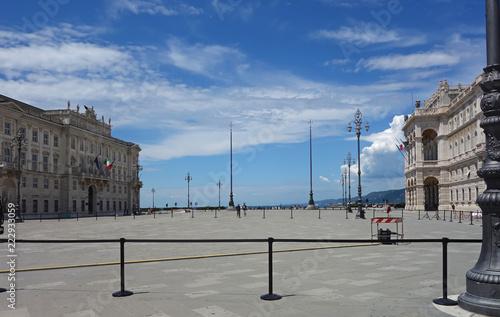 Fotografie, Obraz  Piazza Grande Trieste, Italy