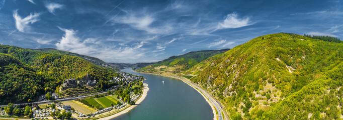 Luftbild Oberes Mittelrheintal
