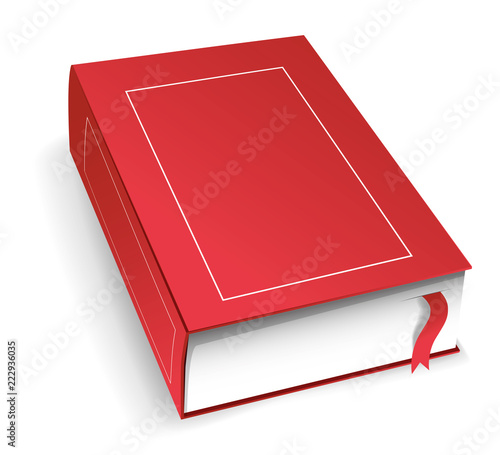 Livre Vierge Rouge Ferme Buy This Stock Vector And Explore
