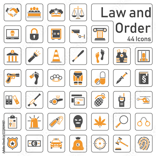 Photo  Law & Order - Icons