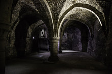 Interior Of An Old Historic Bu...