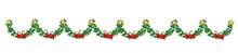 Christmas Seamless Border With...