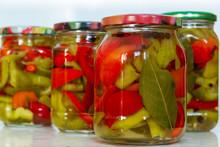 Canned Sweet Pepper In Glass J...