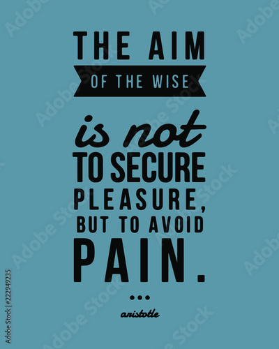 The Aim Of The Life Quote Text Typography Isolated On White New Life Quote Posters