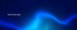 abstract blue technology banner design