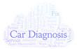 Car Diagnosis word cloud.