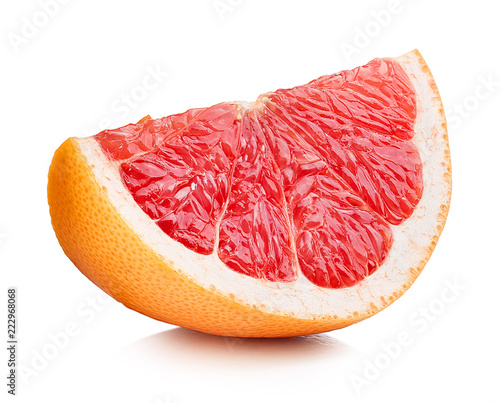 Perfect slice of grapefruit