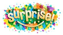 Surprise Word Creative Concept