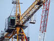 Construction crane, close-up