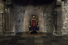 Throne In Castle