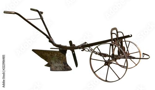 Cuadros en Lienzo Old plow