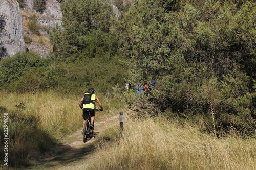 Foto op Canvas Fietsen Ciclismo