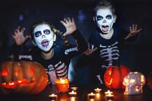 Happy Halloween! Children In C...