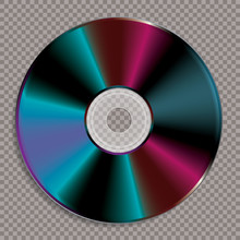 Blank Colorful CD
