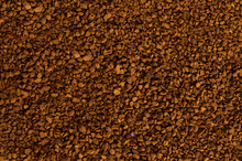 Granules Of Instant Coffee