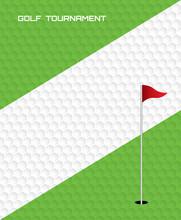Golf Invitation Flyer Poster Template Graphic Design