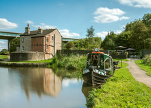 A Converted Canal Narrowboat A...