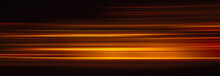 Abstract Red Light Trails In T...