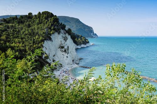 Poster Cote Riviera del Conero, Marche Italy