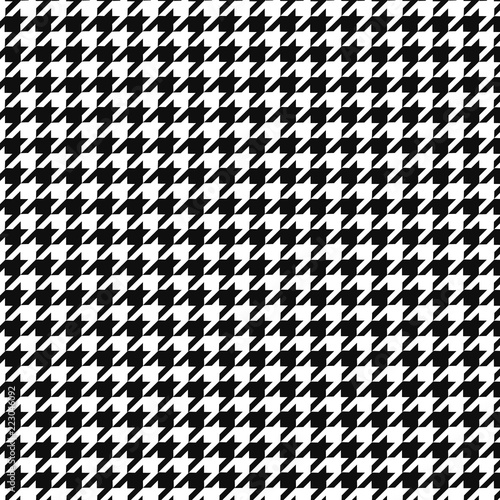 Photo  Hounds tooth vector pattern ornament