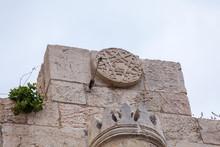 Street Sign Jaffa Gate In Old ...