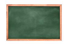 Empty Green Chalkboard Texture...