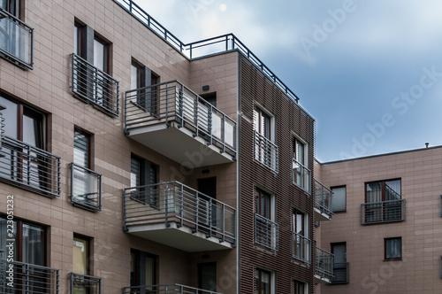 Obraz Nowoczesne osiedle mieszkaniowe, Sopot - fototapety do salonu