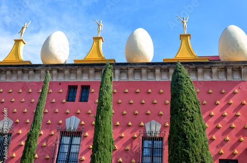 Photo Facade of Dali Museum