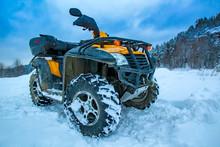 ATV  Is A Yellow Color. ATV Re...