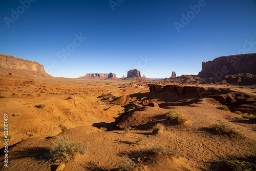 Printed kitchen splashbacks Brown Monument Valley Arizona