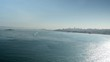 Extreme Wide Shot of San Francisco from Gold Gate Bridge