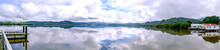 Hokianga Harbour Panorama Taken At Horeke, Far North District, New Zealand, NZ