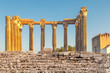 Leinwanddruck Bild - The Roman Temple of Evora, also referred to as the Templo de Diana is an ancient temple in the Portuguese city of Evora