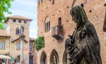 Madonna's Statue In Grazzano V...