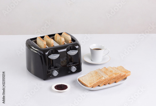 Bread toaster isolated