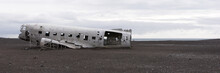 Plane Wreck In Iceland At A Cl...