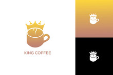 KING COFFEE LOGO DESIGN