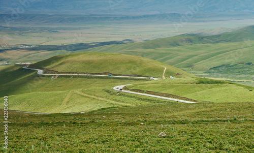 Poster Asia land Suusamyr Valley
